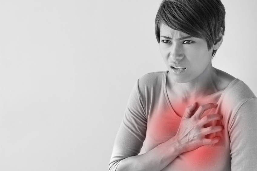 Symptoms of a heart attack. What does it feels like?