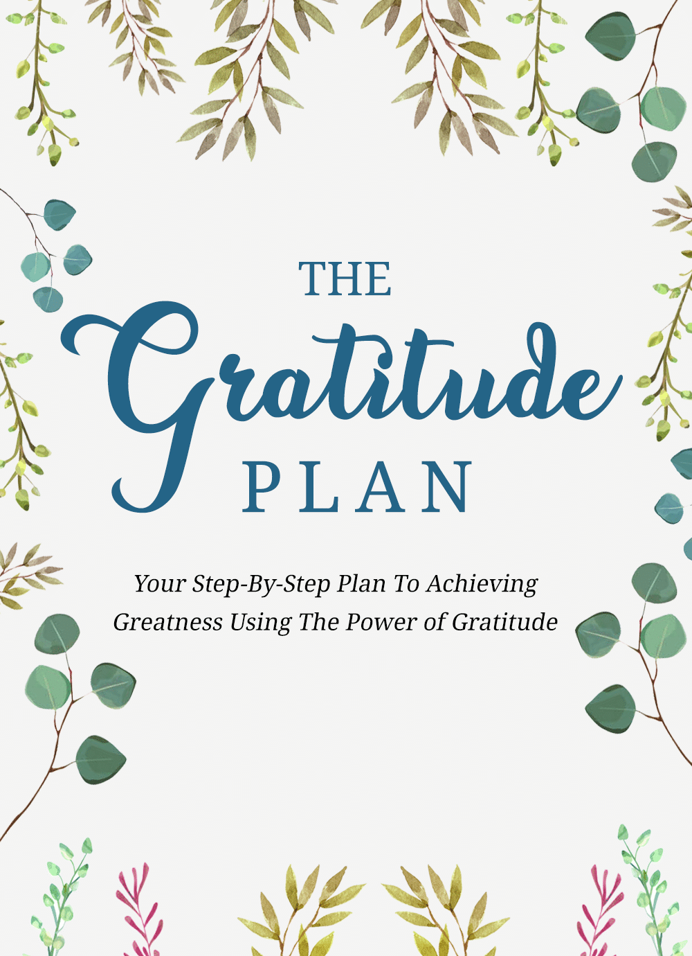 Gratitude plan